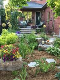 Garden Ideas For Small Front Yards - no grass front yard landscaping ideas front yard mediterranean