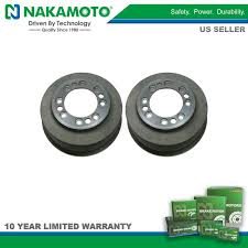 nakamoto rear drum brake pair set for ford econoline van f350