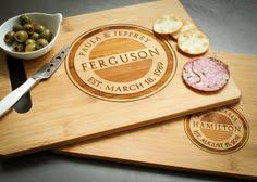 personalized cheese tray personalized serving tray cutting board cheese cutlery set