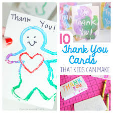 thank you card for 10 thank you cards from toddlers and preschoolers munchkins and