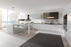 Gray Color Kitchen Cabinets White Kitchen Cabinets Pinterest Dark Brown Laminated Wooden Long