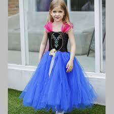 tulle for sale hot sale elsa dress girl kids princess tulle tutu dress