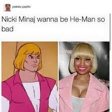 Nicki Minaj Meme - the best heman nicki minaj memes memedroid