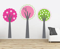 Owl Nursery Wall Decals by Janey Mac New Tree Wall Decals