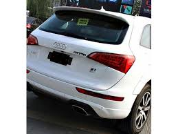 audi q5 2007 c style rear lip roof spoiler wing fit for audi q5 2007 2011 q5