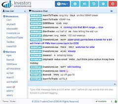 Chat Room by Investors Underground Chat Room Updates And New Features