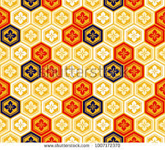kimono repeat pattern seamless vintage japanese flower kimono pattern stock vector hd