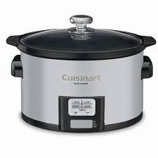 black friday slow cooker amazon com cuisinart psc 350 3 1 2 quart programmable slow cooker