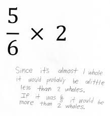 Multiplying Fractions By Whole Numbers Worksheets Multiplying By A Fraction Less Than One Students Are Asked To