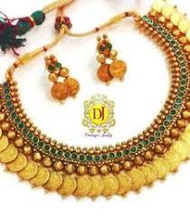 Buy Kasu Mala Lakshmi Ji Artificial Jewellery Online Buy Fashion Imitation Jewellery