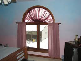 wonderful arch window curtains