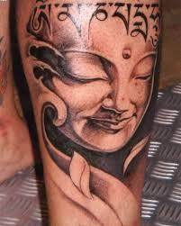 buddha on leg tattooshunter com