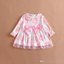 2017 2016 baby dress 9m 24m newborn baby cotton