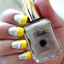 beauty and the beast nail polish sets belle and gowns