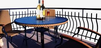 balcony terrace dining table png image for free download