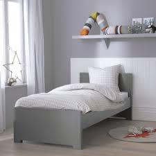 chambre enfant gris lit enfant gris koala 90x190 oscar et osc1koam01