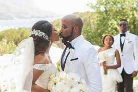 www wedding photos banky w s wedding to adesua in sa vanguard news