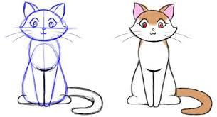 imágenes de gatos fáciles para dibujar how to draw a cat disegni di gatti pinterest dibujar gato y