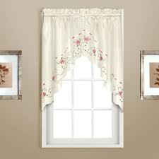 Kitchen Curtains Swags by Buy Kitchen Curtains Swags From Bed Bath U0026 Beyond
