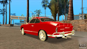 karmann ghia 1973 volkswagen karmann ghia for gta san andreas