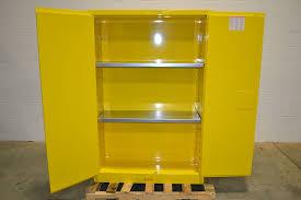 Justrite Flammable Liquid Storage Cabinet Justrite 894500 Sure Grip Ex Flammable Liquid Storage Cabinet 45