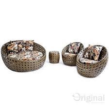chaise e 60 chaise ândia 1 60 mt 2 poltronas puff em alumínio e fibra