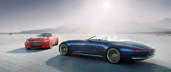 rose gold cars vision mercedes maybach 6 cabriolet luxury of the future