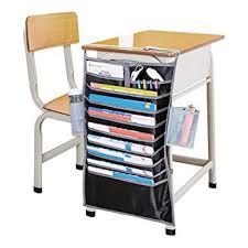 Hanging Desk Drawer Organizer Heavy Duty Oxford 14 Pockets Desk Mount Hanging Best Desk