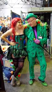 halloween costumes the riddler file comic con brussels 2016 poison ivy u0026 the riddler