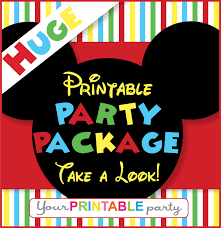 Minnie Mouse Halloween Birthday Party by Free Printable Mickey Mouse Diy Party Hats With Mickey Ears