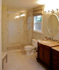 glorious porcelain floor tile ideas with stylish oval mirror for