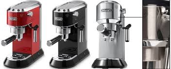 delonghi magnifica red light delonghi ec 680 685 dedica a narrow and compact coffeemaker with