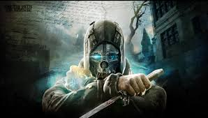 Dishonored Mask Dishonored Warrior Sci Fi Futuristic Mask Weapons Knife Text