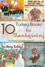 stuffed turkey craft and 10 turkey books to read