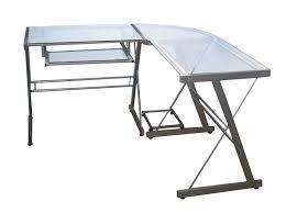 l shaped desk glass furniture charming walker edison desk exquisite l shaped