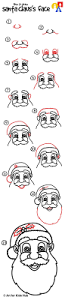 the 25 best how to draw santa ideas on pinterest santa claus