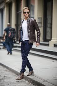 brown motorcycle jacket 118 best mens leather jacket images on pinterest menswear