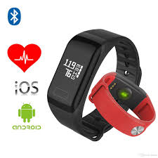 blood pressure bracelet iphone images F1 fitness blood pressure oxygen heart rate monitor smart watch jpg