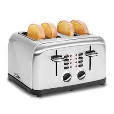 Cuisinart Toaster 4 Slice Stainless Bella Classics 2 Slice Stainless Steel Toaster Bla14466 The Home