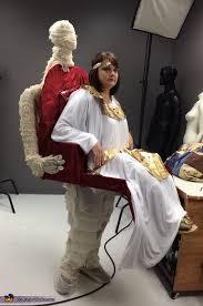 mummy carrying cleopatra illusion halloween costume