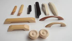 furniture accessories wooden knobs for kitchen cabinets wooden