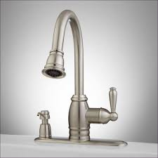 kitchen room delta victorian kitchen faucet antique brass wall