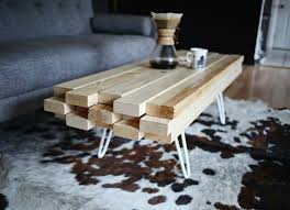 2x4 coffee table design ideas rustic coffee table using 2x4 and