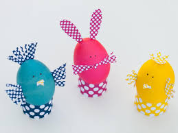 kids u0027 craft dyed easter egg animals hgtv