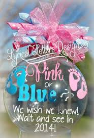 diy ornament gender reveal diy lovin gender