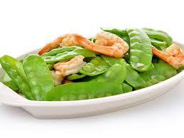 cuisiner les pois mange tout sauté de crevettes et pois mange tout