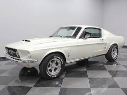 1967 Mustang Black Pearl White 1967 Ford Mustang For Sale Mcg Marketplace