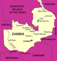 Map Of Zambia Zambia Holidays