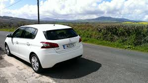 peugeot 308 range peugeot 308 wows with style and finish changing lanes