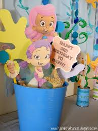 the pretty kitty studio bubble guppies diy party decor
